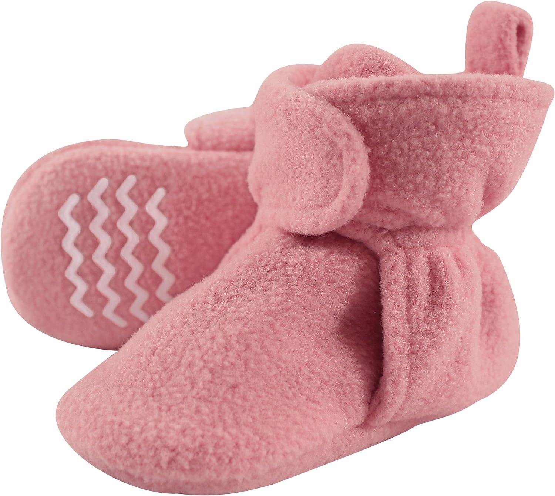 Hudson baby baby-boys Cozy Fleece Booties Slipper Sock