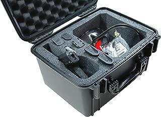 Case Club Waterproof 1 Pistol Case with Accessory Pocket & Silica Gel to Help Prevent Gun Rust