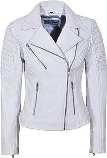 Smart Range Ladies Real Leather Jacket Stylish Fashion Designer Soft Biker Motorcycle Style 9334