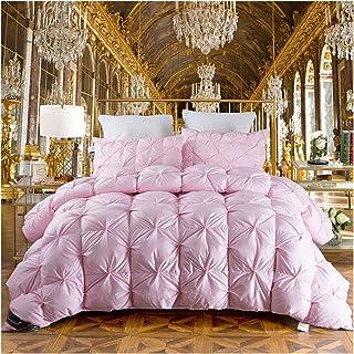 CFSNCM Couverture de couette de couette chaude rose couverture (Color : Pink, Size : 220x240cm 4200g)