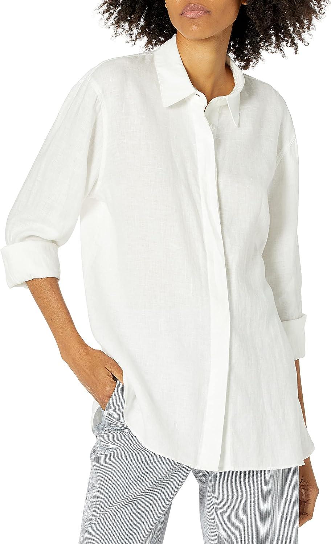 Theory Women's Menswear Shirt T