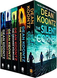 Jane Hawk Thriller Series 5 Books Collection Set by Dean Koontz (Silent Corner, Whispering Room, Crooked Staircase, Forbid...