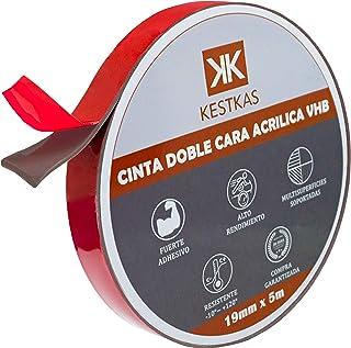 Extra sterke dubbelzijdige kleefband 19mm x 5m VHB High Performance Multifunctioneel