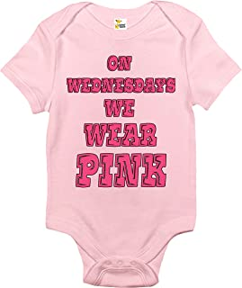 Baby Bodysuit - On Wednesdays We Wear Pink Baby Clothes for Infants
