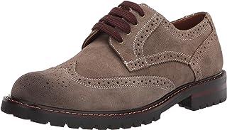 Steve Madden حذاء أوكسفورد KOMMBER للرجال، كاكي سويدي، 12
