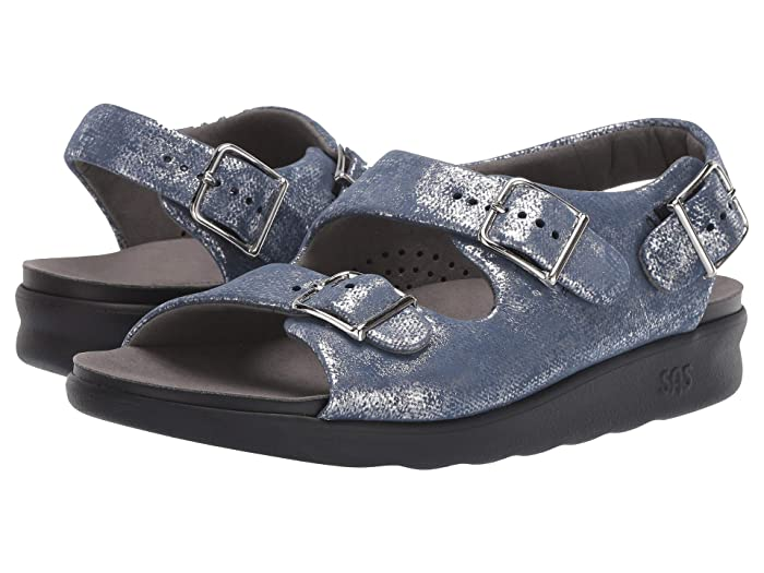SAS Relaxed (Silver/Blue) Women's Shoes