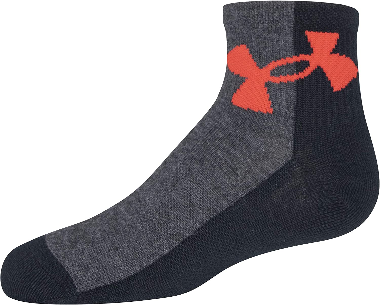 Under Armour Youth Essential Lite Quarter Socks, 6-pairs
