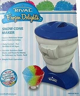 Rival Frozen Delights Snow Cone Maker Blue
