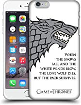 Official HBO Game of Thrones White Winds Graphics Hard Back Case Compatible for iPhone 6 Plus/iPhone 6s Plus