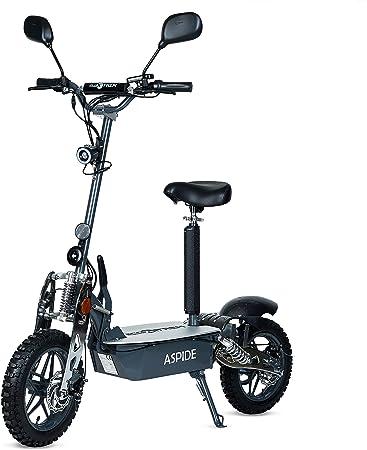 Aspide Metal - Patinete/Scooter eléctrico dos ruedas, con ...