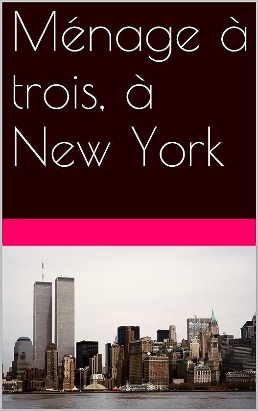 予防接種するジョットディボンドン素晴らしい良い多くのMénage à trois, à New York (French Edition)