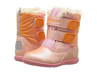 Tsukihoshi Kids Teddy (Toddler/Little Kid) (Peach/Pink) Girls Shoes