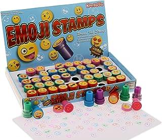 Kangaroo Emoji Universe: Plastic Stamps, 50 Count Emoji Stampers