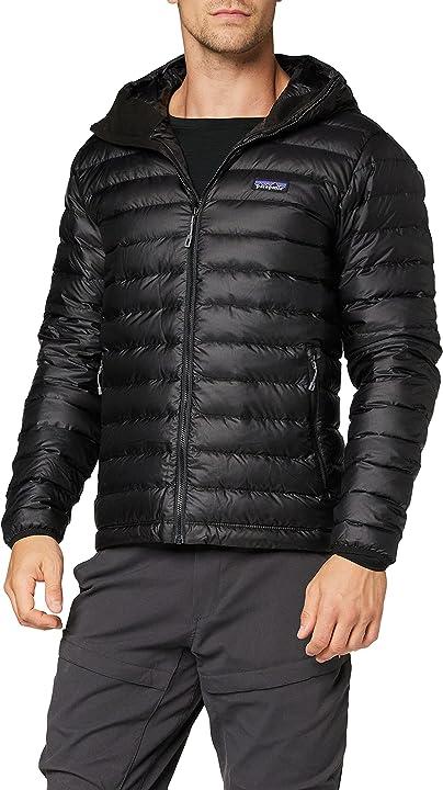 Piumino patagonia down sweater giacca uomo 84701-BLK