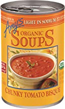 Amy's Organic Chunky Tomato Bisque Soup, Light in Sodium, 14.5-Ounce (Pack of 12)