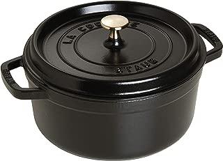 Staub Round Dutch Oven 7-quart Matte Black