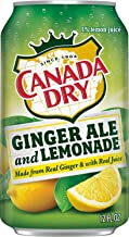 Canada Dry Ginger Ale Lemonade 12 Oz Can - Pack Of 24
