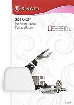 Singer B00G6TW7ZK Aditamento de Corte Lateral con pie prensatelas para máquinas de Coser de vástago Corto