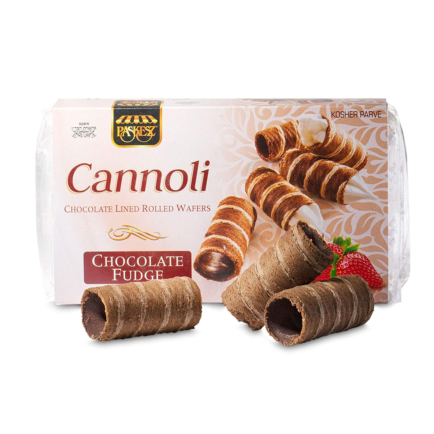 Mini Cannoli Shells Chocolate Limited time cheap sale Lined Thin Rolled Wafers and Outlet sale feature Cr