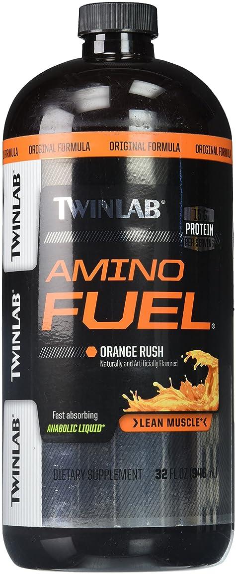 ラボ胸下品海外直送品Twinlab Amino Fuel, Liquid Concentrate 16 FL Oz