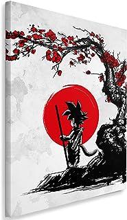Feeby Anime por DDJVIGO Imprimir en Lienzo - 50x70 cm - Blanco Negro Rojo
