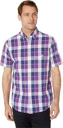 Easy-Care Short-Sleeve Sport Shirt