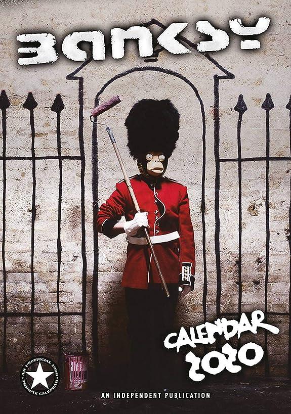 Banksy Calendar - Calendars 2019 - 2020 Wall Calendars - Modern Art Calendar - Poster Calendar - Monthly Calendar by Dream (Multilingual Edition)