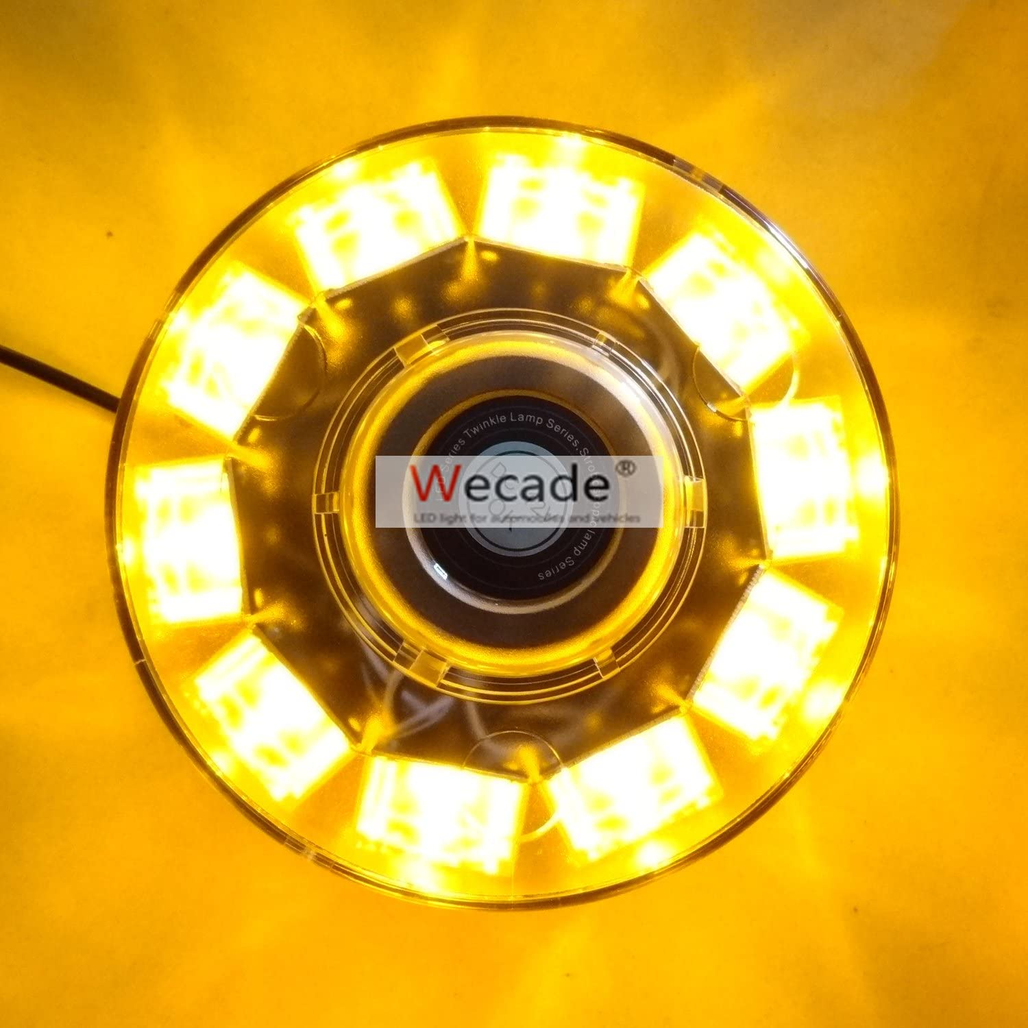 Wecade High All stores Reservation are sold Intensity 10 LED Volunteer Firefighter Emergency 30W