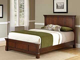 Aspen Rustic Cherry King Bed by Home Styles
