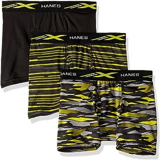 سراويل داخلية بوكسر رجالي X-Temp من 3 قطع من Hanes Ultimate