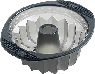 MASTRAD - Moule Kouglof - 100% Silicone Premium - Anti-Adhésif - Maintien Parfait - Gris Fumé