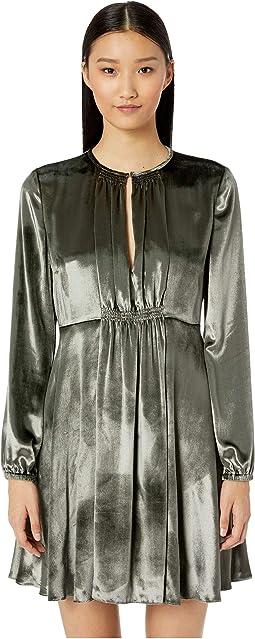 Liquid Velvet Dress