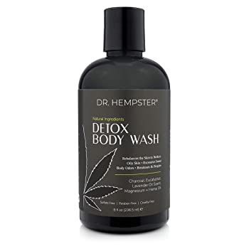 Dr. Hempster Charcoal Detox Body Wash