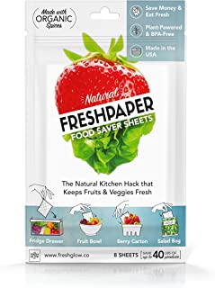 The FRESHGLOW Co. 9103 Fenugreen Saver Sheets, Produce