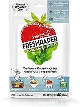 FreshPaper 20002 Fruit & Vegetable 8 Sheet Pack, White