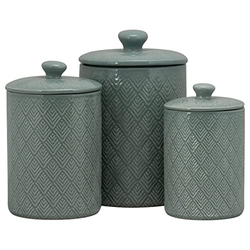 Blue Kitchen Canister Sets of 3: Amazon.com