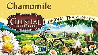Celestial Seasonings Herbal Tea, Chamomile, 20 Count (Pack of 3)