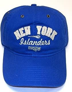 CCM New York Islanders Vintage Hockey Slouch Strap Back HAT - OSFA - ER09Z
