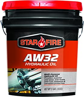 Starfire Premium Lubricants AW 32 Hydraulic Oil, 5 Gallon, Pail