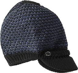 Textured Lurex Cabbie Hat