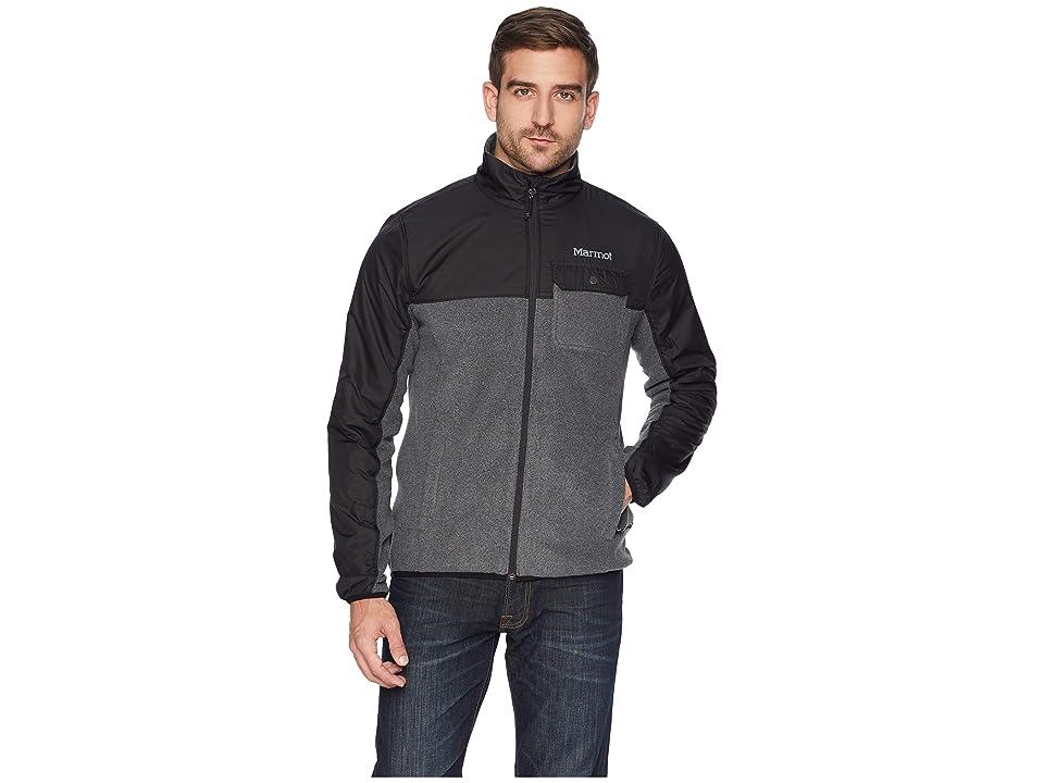 Marmot Tech Sweater (Black Heather/Black) Men