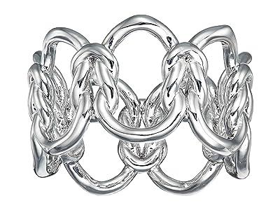 Kendra Scott Fallyn Band Ring (Rhodium Metal) Ring