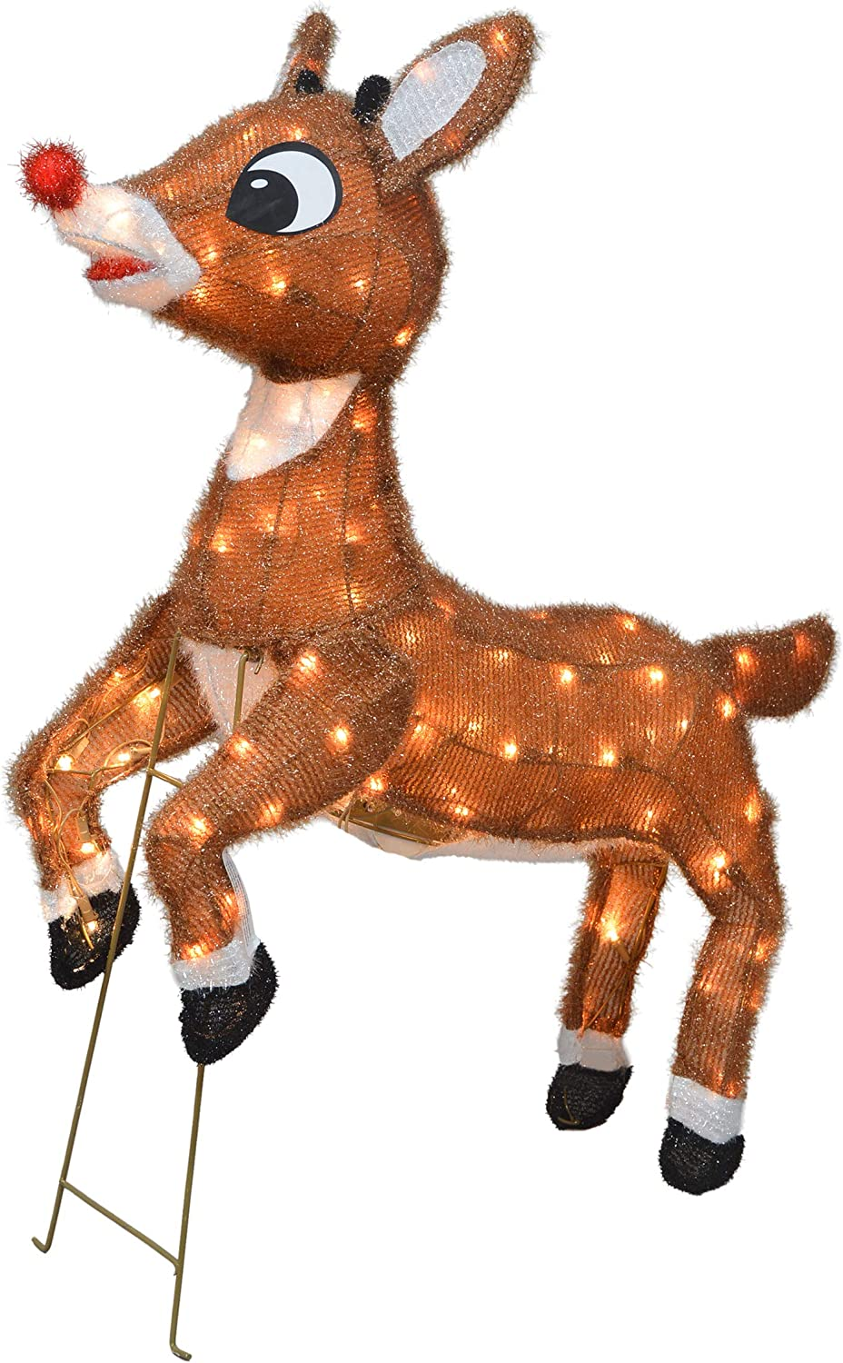 TisYourSeason 3D Rudolph The Red-Nosed sale OFFicial site Reindeer Animated Out 36