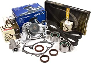 Evergreen TBK257AMHWPA Fits Toyota Lexus 3.0 1MZFE 3.3 3MZFE Timing Belt Kit AISIN Water Pump