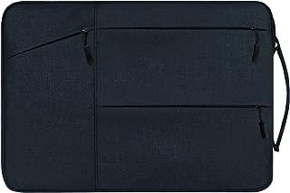 TOWOOZ MacBook Pro ケース 13 インチ ノートパソコンケース裏起毛 360°保護 衝撃吸収 Macbook Pro/Macbook Air/Surface Pro ノートPC ケース 軽量 耐衝撃 防水 ノートPC ケース 13~14インチ 対応 (ブルー)
