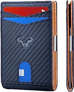 Slim Wallet Men,BULLIANT Leather Wallet Front Pocket Card Holders for Men 3