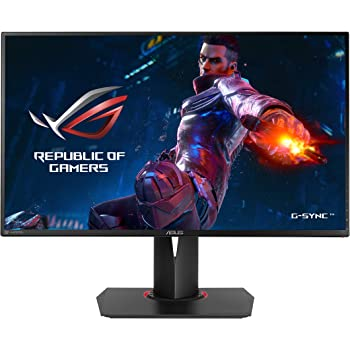 "ASUS ROG Swift PG278QR 27"" Gaming Monitor 1440p 1ms 165Hz DP HDMI G-SYNC Eye Care"