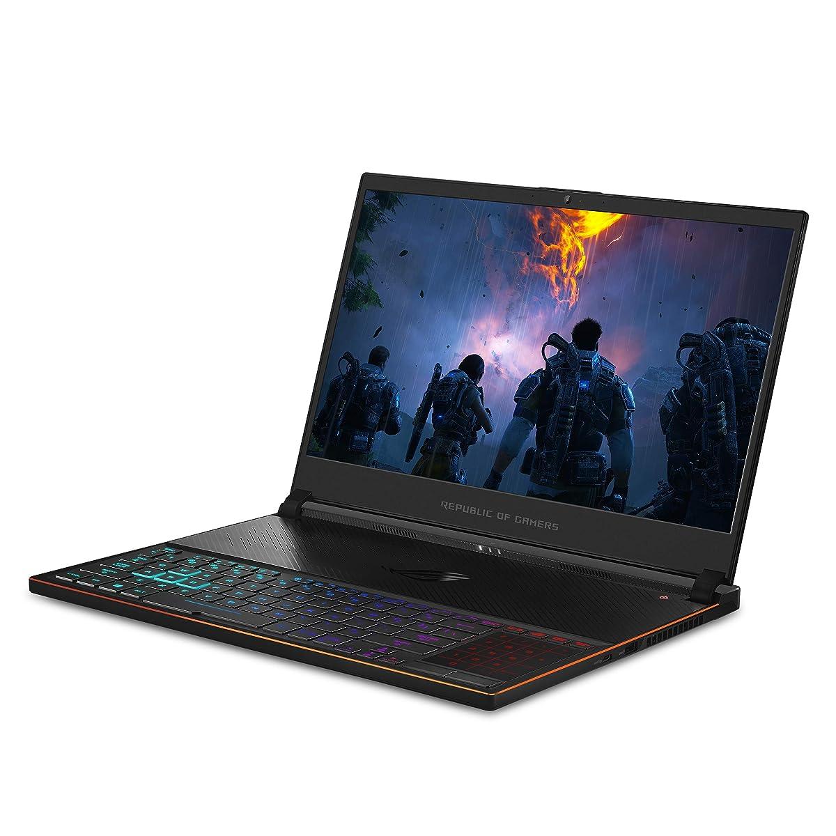 "ROG Zephyrus S Ultra Slim Gaming Laptop, 15.6"" 240Hz IPS-Type FHD, GeForce RTX 2080, Intel Core i7-9750H Processor, 16GB DDR4, 1TB PCIe Nvme SSD, Aura Sync RGB, Windows 10 Pro, GX531GX-XB76"