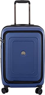 Luggage Cruise Lite Hardside Carry On Expandable Spinner Suitcase with Front Pocket & Lock, Blue