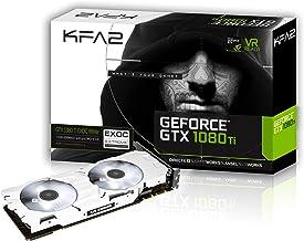 KFA2 80IUJBMDQ0EK - Tarjeta gráfica (GeForce GTX 1080 TI, 11 GB, GDDR5X, 352 bit, PCI Express 3.0, 2 Ventilador(es))
